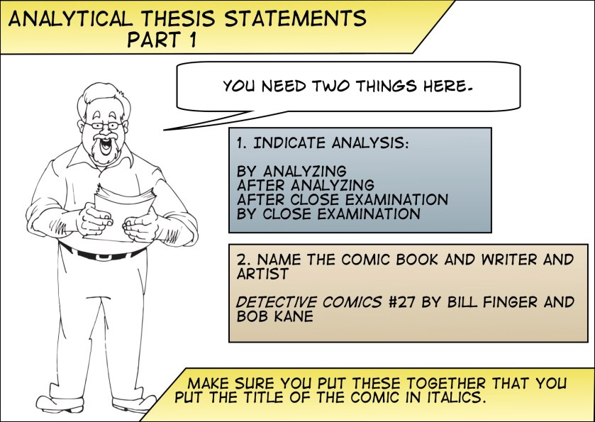 Thesis Analysis Part 1