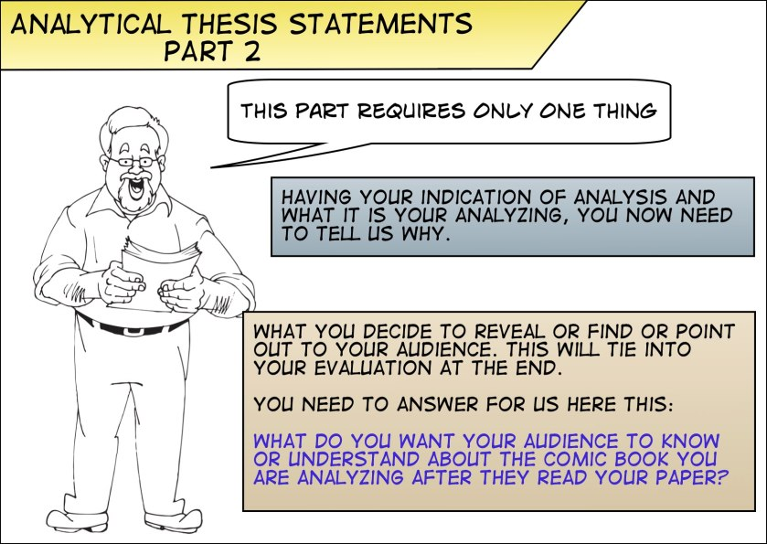 Dissertation analysis part