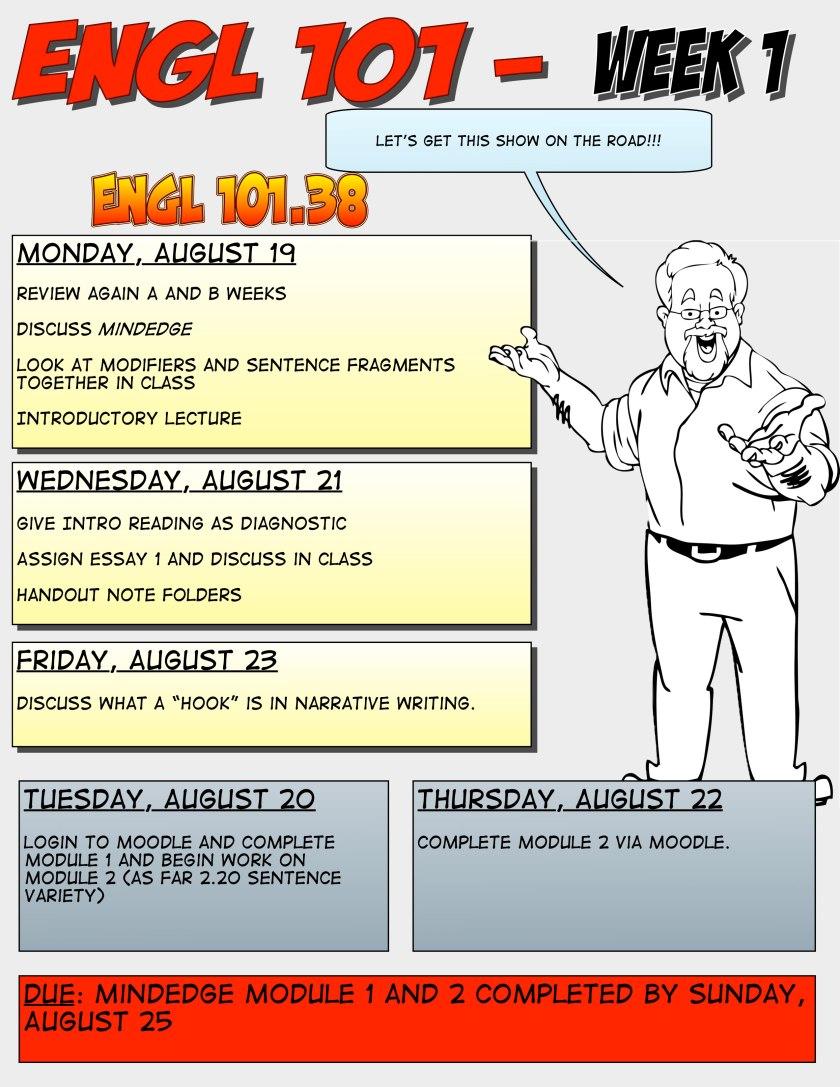 ENGL101 Week 1